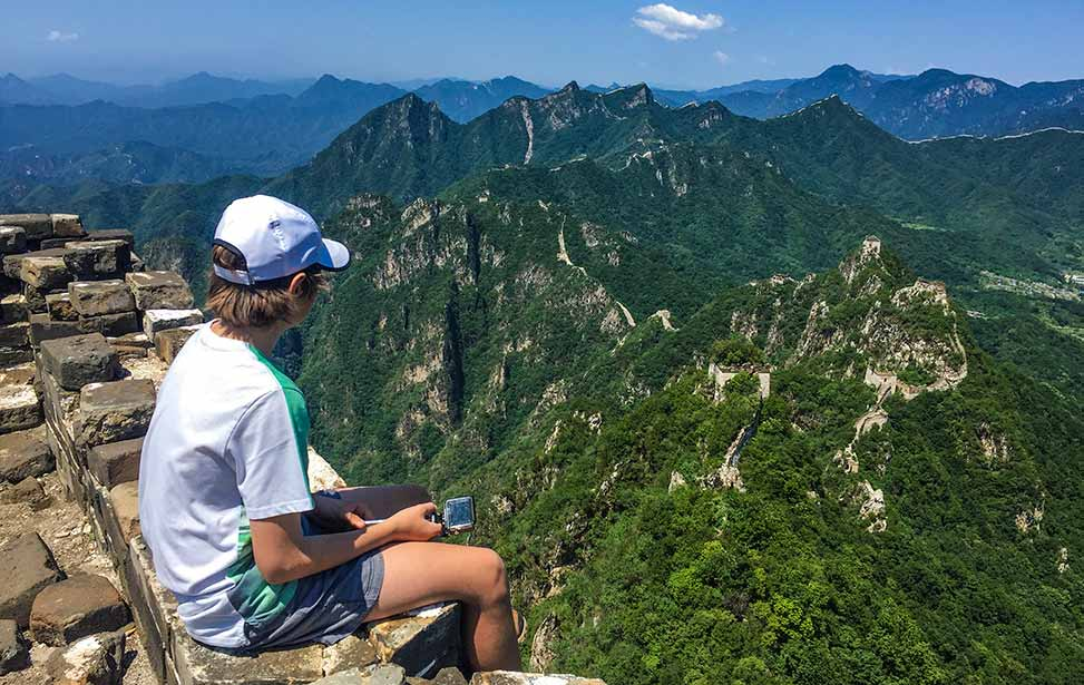 Jiankou to Mutianyu Great Wall Adventure Hiking Tour