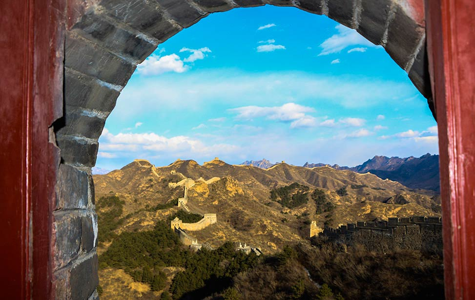 Jinshanling great wall self-guide transfer service